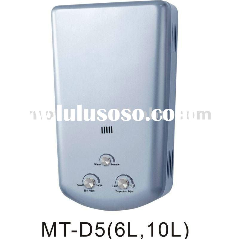 Deep Stamping Gas Hot Water heater MT-D5(6L,10L)