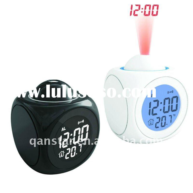 Digital Projection Clock with Themometer LCD Display with LED Backlight CK990