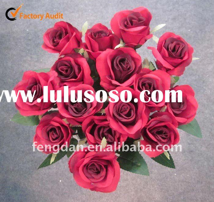 FL0203 ,FL0206 Artificial flower Single Rose