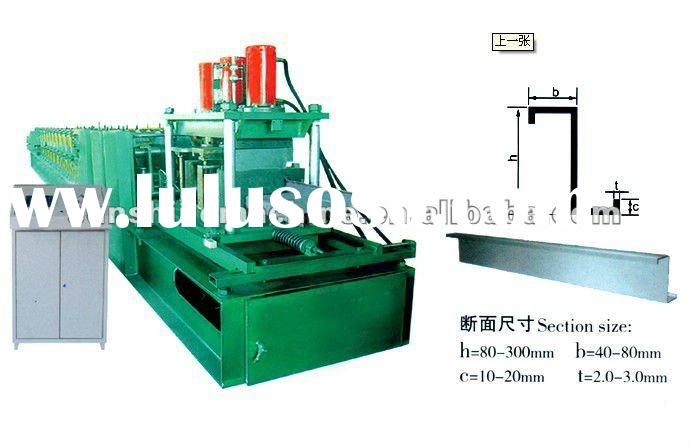 Galvanize steel Z purlin roll forming machine