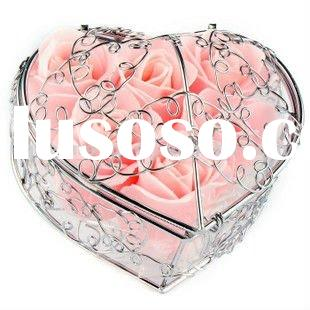 Gifts rose soap flower,bath confetti;paper soap;bath soap flakes