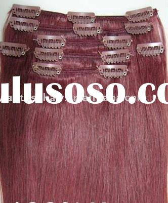 Good Quality Malaysia Human Hair Clip In Extensions