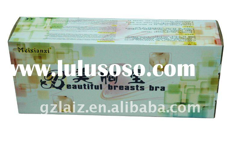 Hot breast massage for breast enlargement firmness enhancement