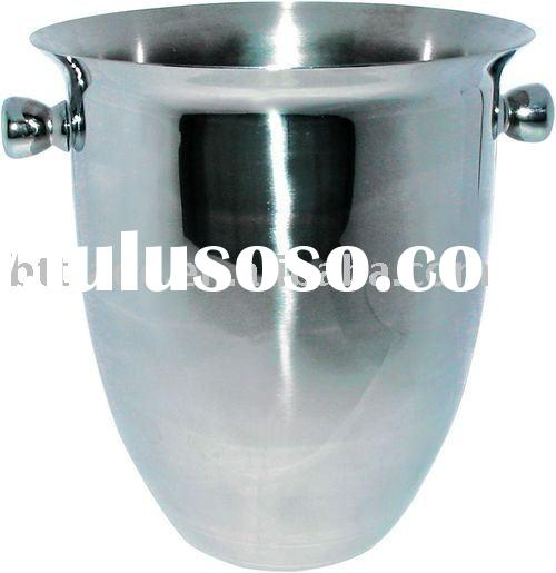 Ice Bucket; promotional ice cooler; bar tools, stainless steel ice bucket