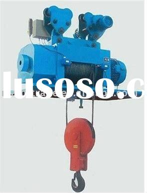 India favored electric wire rope winch