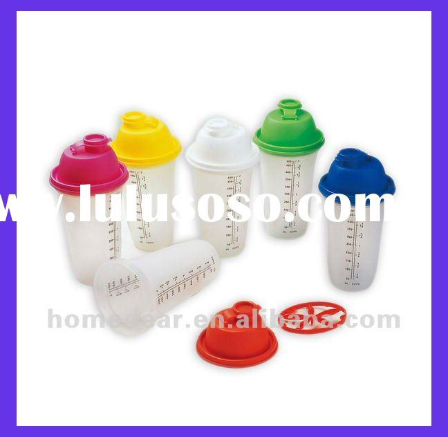 KH-33 food grade plastic shaker bottle