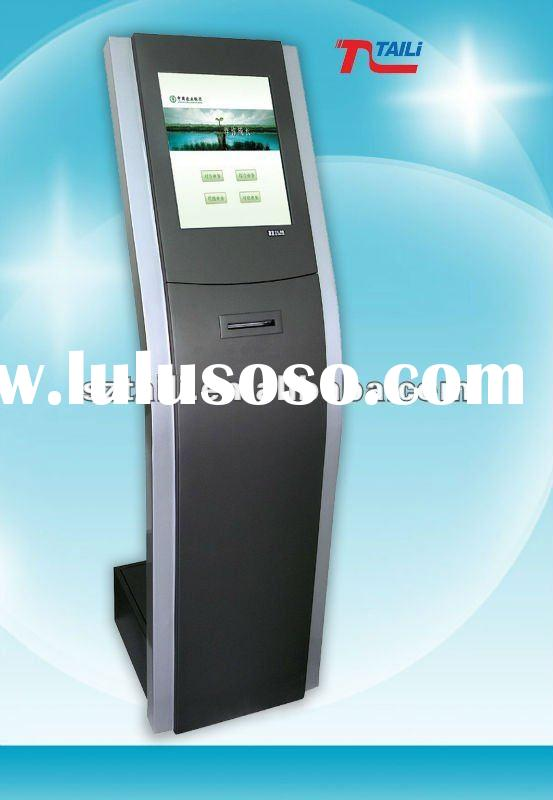 Lobby Queue and Ticket self service kiosk ticket machine TLST-9810