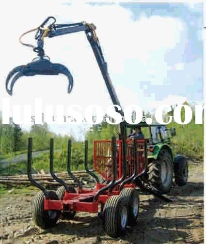 Log trailer with crane for Tractor(ZM03,ZM04,ZM02)