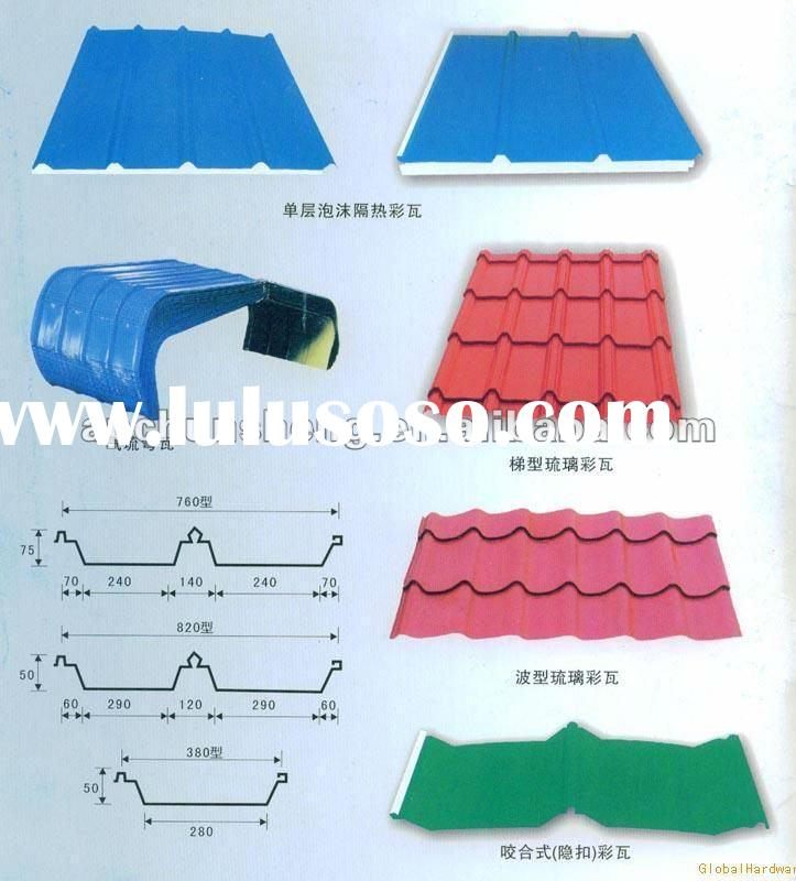 Length And Width Of Long Span Aluminium Roofing Sheets