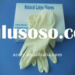 Medical Disposable Latex Examination Gloves