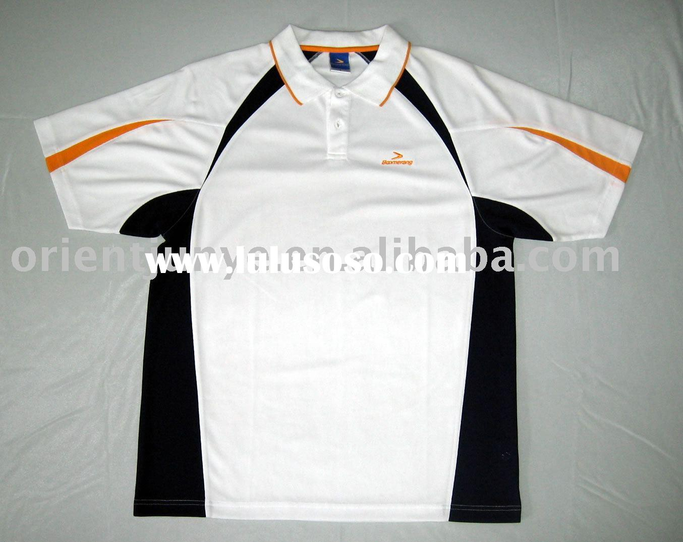 Men's dry-fit polo shirt