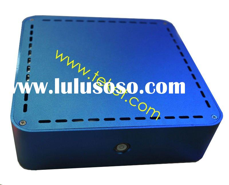 Metal Aluminum MINI-ITX Chassis for HTPC without Power Supply