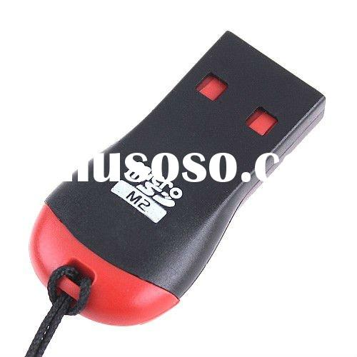 Mini USB 2.0 Micro SD T-Flash TF M2 Memory Card Reader