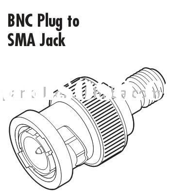Jack To Plug Sma on bnc coaxial connectors