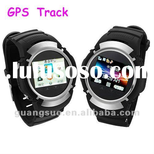 New GPS watch phone GPS positioning Quad Band GPS Watch mobile phone