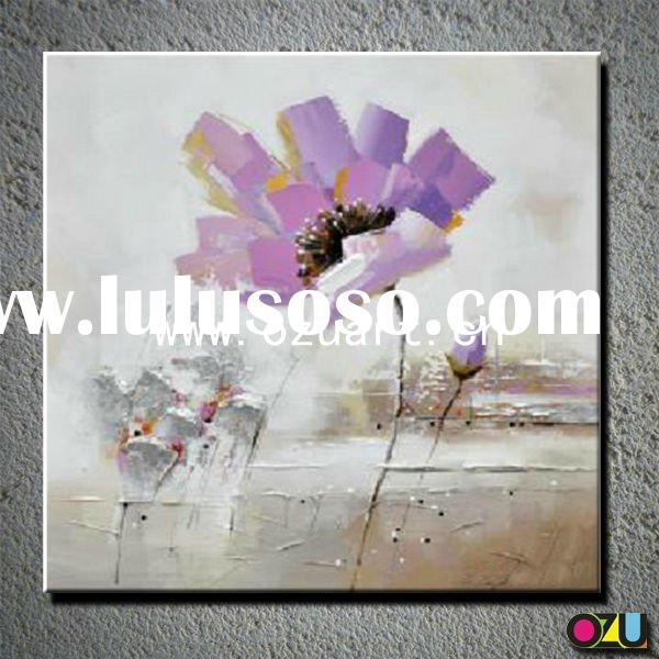 New Style Abstract Oil Painting Poppy Flower