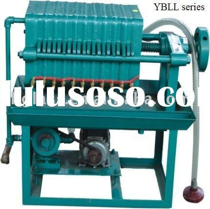 Plate frame filter oil machine / cooking oil filter/ filter oil purier