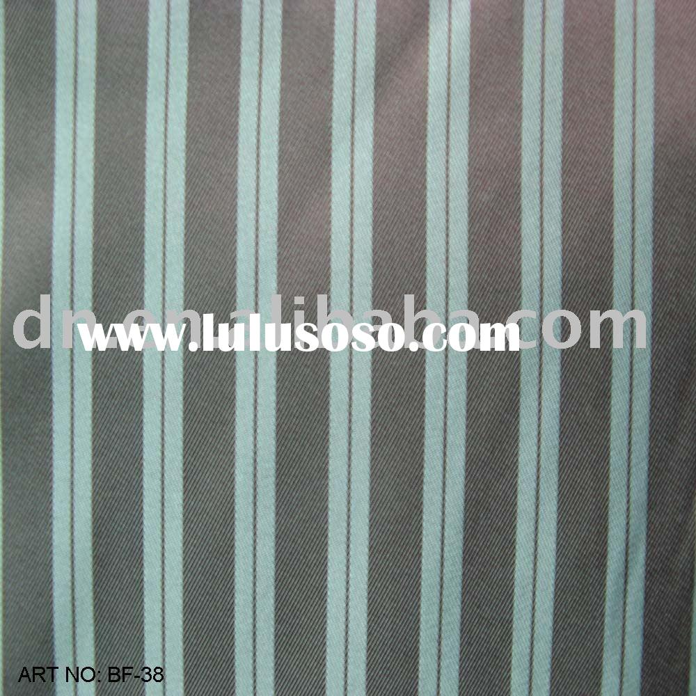 Polyester Lining Fabric/polyester fabric/Stripe Lining