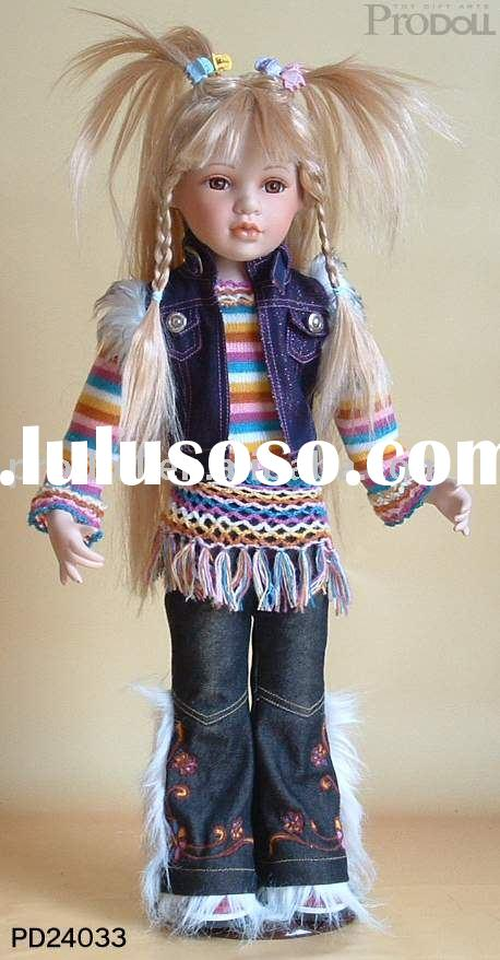 Porcelain doll , fashion doll , cowboy doll,doll