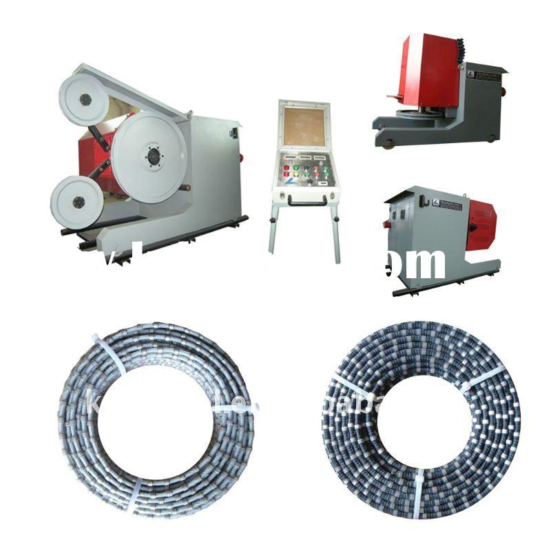 Premium diamond wire saw machine for granite or marble quarry or mining