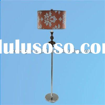 Printed Decorative Pattern Antique Floor Standing Lamp