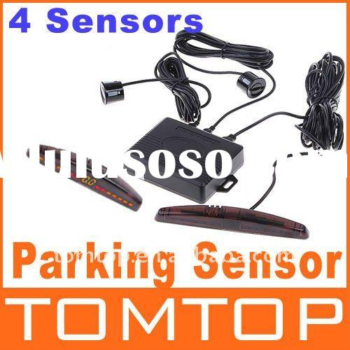 Professional Car LED Parking Reverse Backup Radar System + 4 Sensor