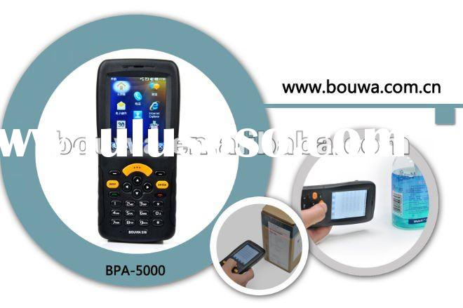 QR code reader/2D barcode scanner with GPS 3G