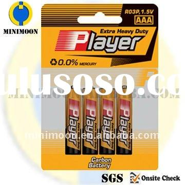 R03 4B AAA Battery for Dry Battery Cell