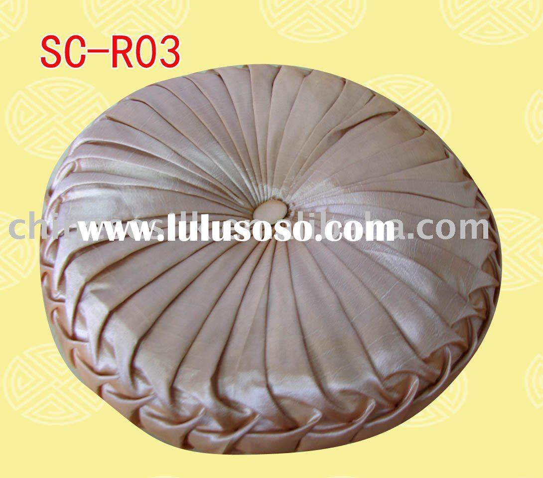 orange round silk pillows, orange round silk pillows Manufacturers ...