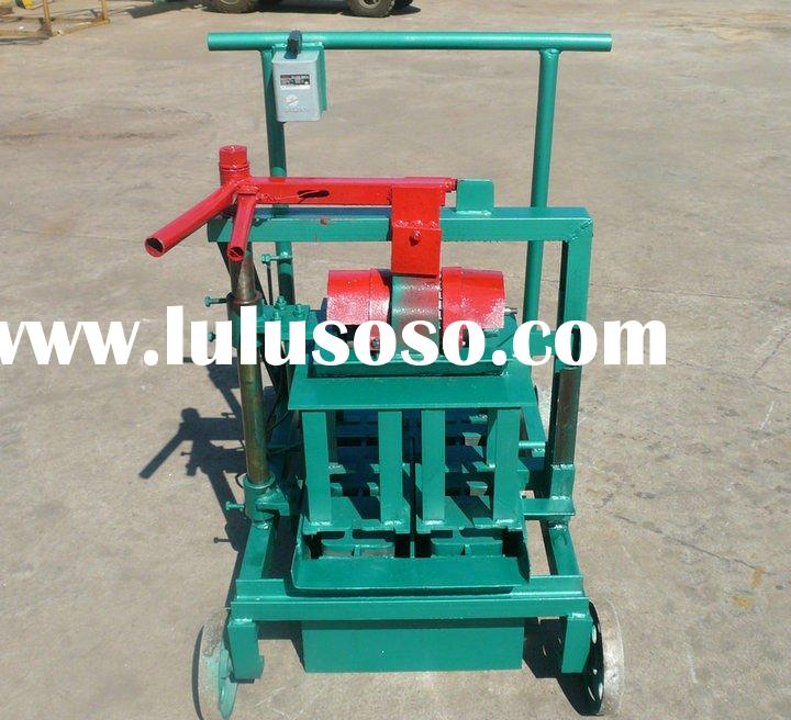 Small QMR2-45 manual brick making machine