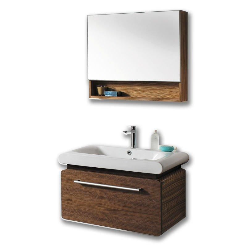 Solid wood Bathroom mirror cabinets V-13072