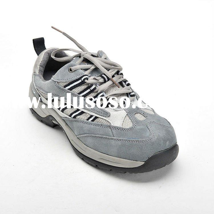 Suede Leather Sports Safety Shoes 5109