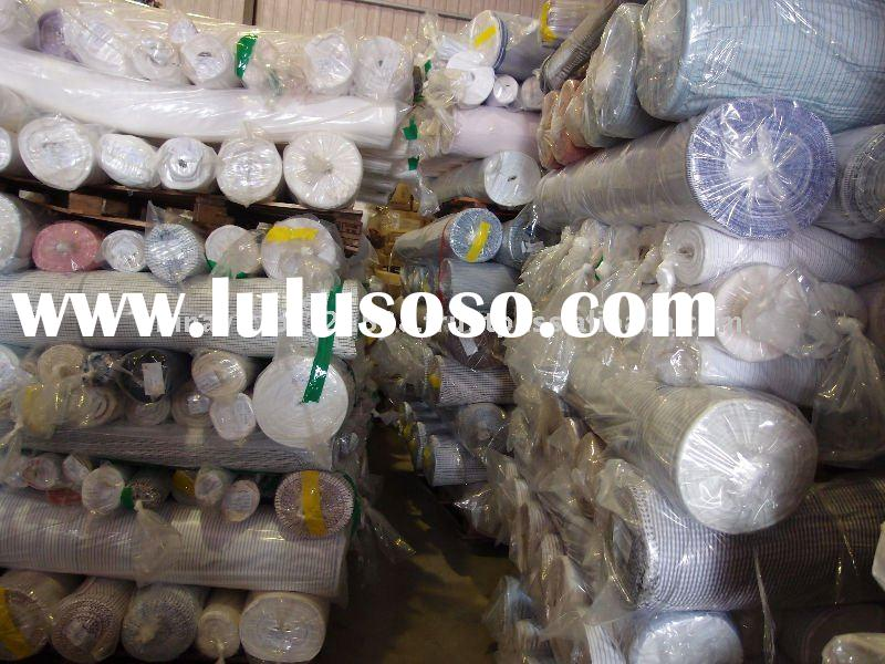 Taiwan good quality 100% Cotton yarn dyed Textile Fabric Stocks