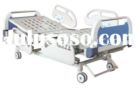 Three-crank medical bed, patient bed, hospital bed