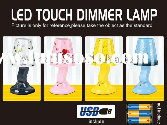 USB LED touch dimmer switch table lamp