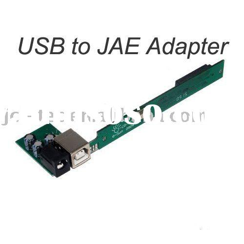 USB to JAE 50-Pin Slim CD DVD RW ROM Laptop Adapter