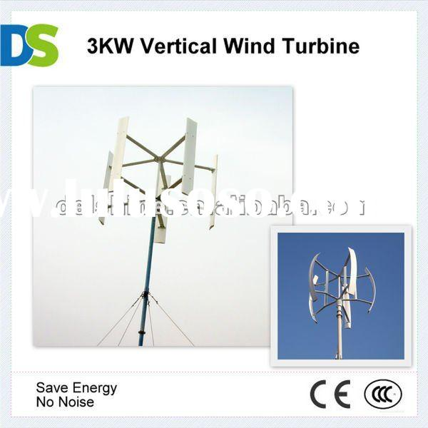V 3KW Vertical Axis Wind Turbine