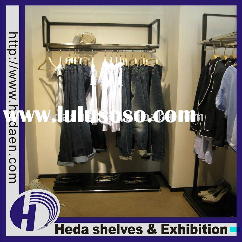 wall mounted garment racks images