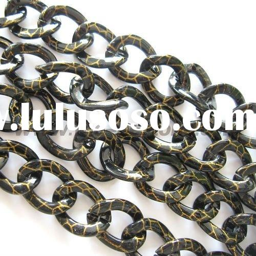 Water Transfer Printing Metal Chain For Jewelry Making
