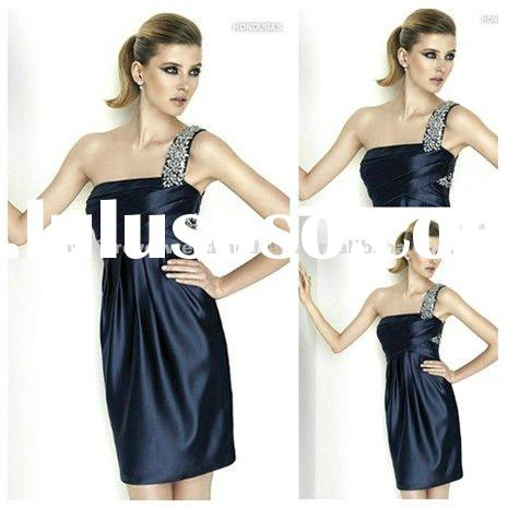 Wholesale Retail One Shoulder Short Party Dresses for Juniors