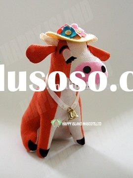 baby cow plush stuffed toys/promotion gifts/children toys