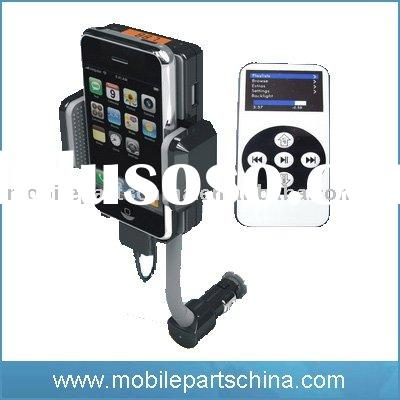 car kit FM transmitter for iphone 3G /3GS , For iphone 3GS 3G FM transmitter car kits