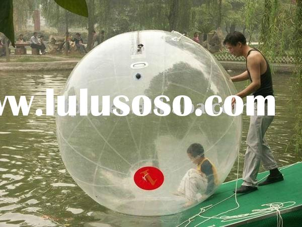 clear inflatable walking ball