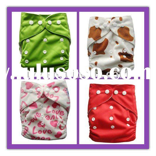 colourful and kinds printed pattern baby cloth diaper