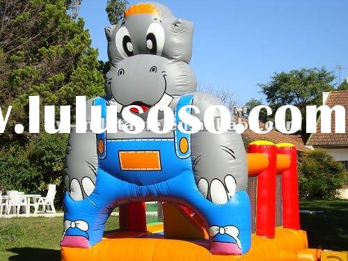 cute cow jumping castles inflatable for rent