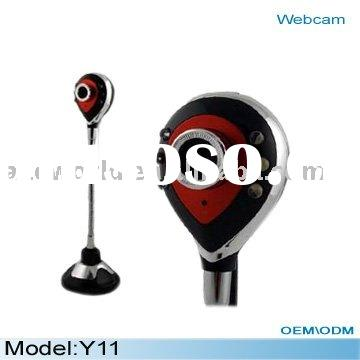 digital usb web camera Y11, Webcam with USB 2.0, 6 LED ligths very good for night vision, Max resolu