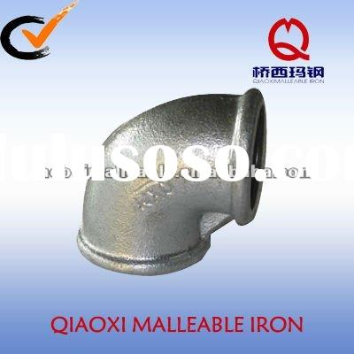 elbow banded equal malleable iron pipe fitting