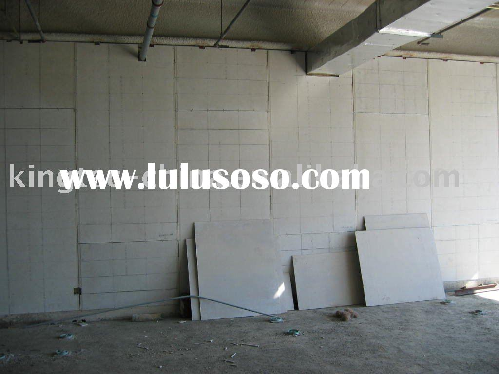 Wall Panels Cement Board : Fiber cement sandwich wall panel