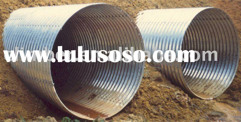 large diameter Corrugated steel pipe