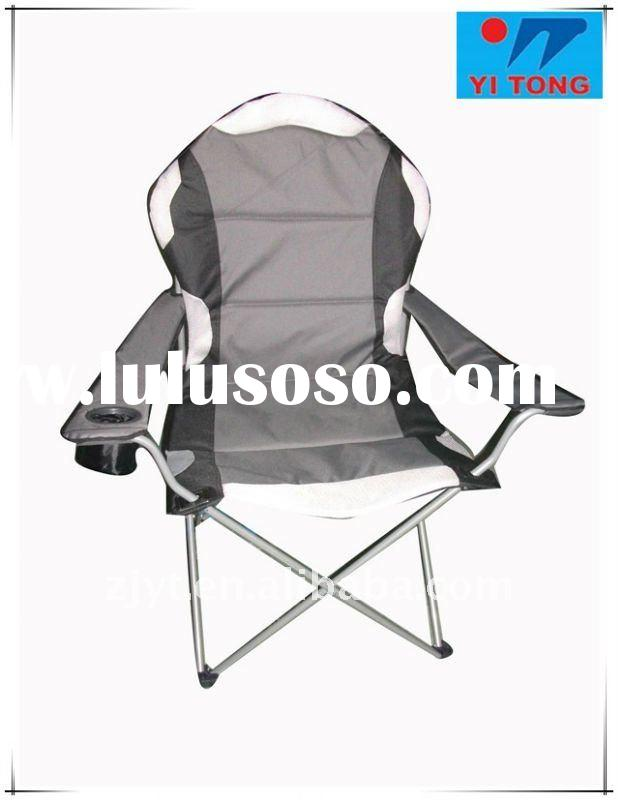 luxury armrest chair,folding chair with armrest,camping chair